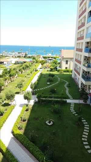آپارتمان با منظره دریا برای خرید در آنتالیا کونار پالاس