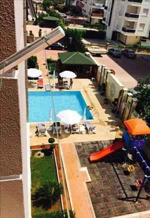 آپارتمان فروشی یک خوابه 65 متری در آنتالیا کنیالتی با لوازم زندگی