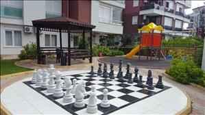 فروش آپارتمان دو خوابه در آنتالیا کنیالتی محله هورما با نگهبانی