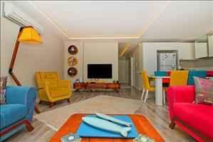 خرید آپارتمان یک خوابه با کلیه لوازم رفاهی منزل در آنتالیا منطقه لارا