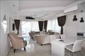 آپارتمان فروشی سه خوابه در آلانیا محمودلار با منظره عالی و دیدنی
