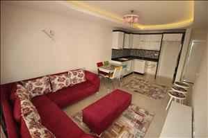 آپارتمان یک خوابه فروشی در آلانیا محمودلار با فاصله 450 متری از ساحل