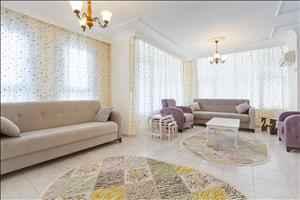 فروش آپارتمان دو خوابه در شهر آلانیا - محمودلار با کلیه لوازم منزل