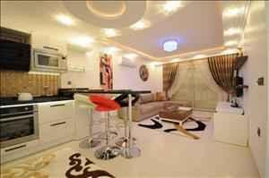 آپارتمان لوکس دو خواب  برای خرید در آلانیا ترکیه