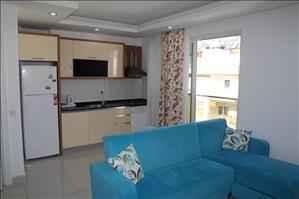 آپارتمان دوبلکس فروشی در شهر آنتالیا کنیالتی با کلیه لوازم زندگی