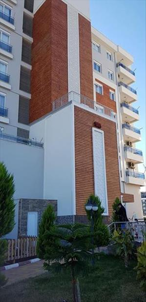 خانه دو خوابه فروشی در آنتالیا منطقه کپز با کلیه لوازم رفاهی منزل
