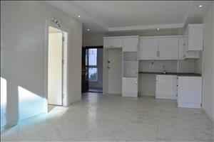 آپارتمان یک خوابه 60 متری در آلانیا محمودلار با استخر رو باز و در نزدیکی دریا